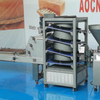 Cylindrical rounder machine