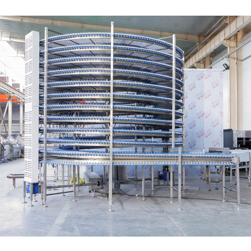 spiral cooling conveyor