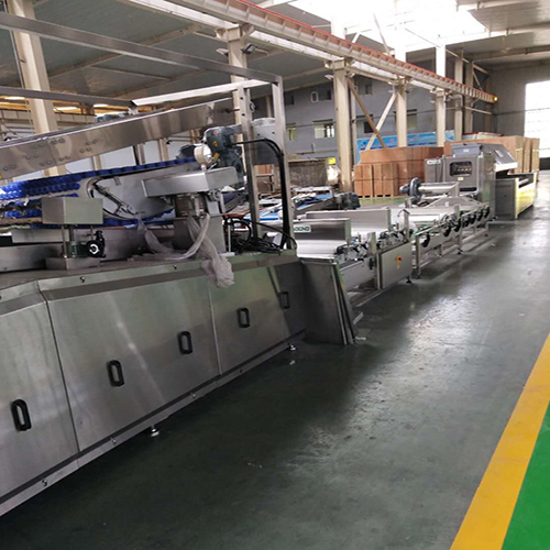 Another bread production line that will go abroad